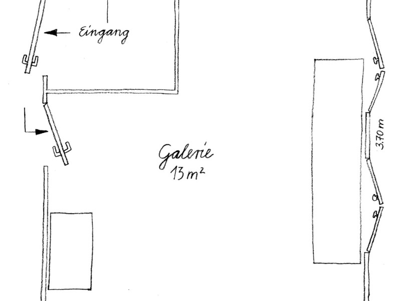 Galerie Grundriss